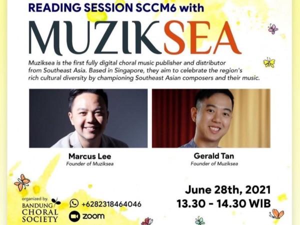 Muziksea at the 6th Symposium on Church Choral Music 2021